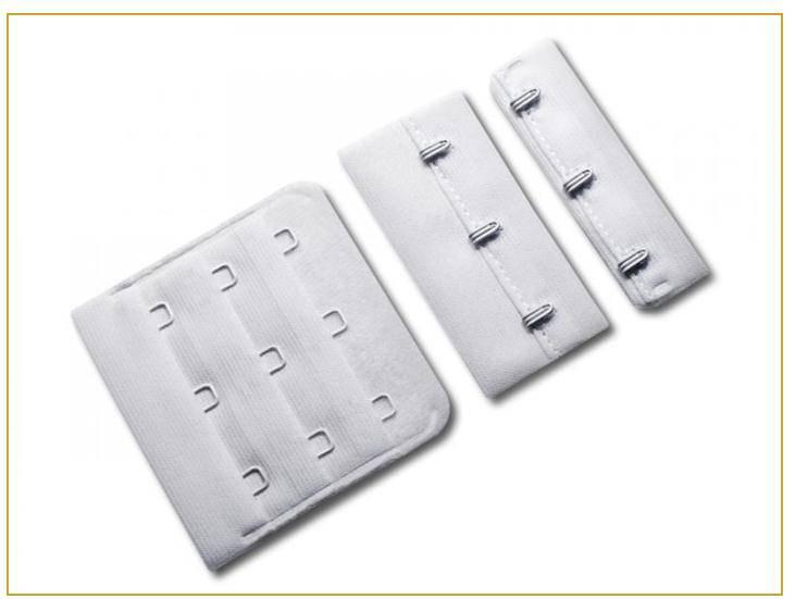 bra hook and eye tape for garment industry