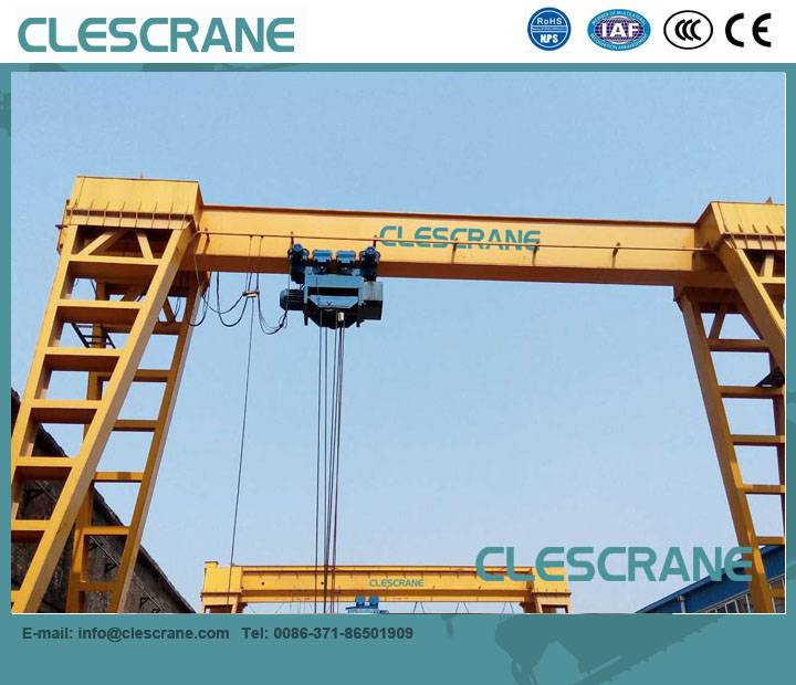 LHG Series Gantry Crane with CD MD Model Electric hoists $1000~ $8000
