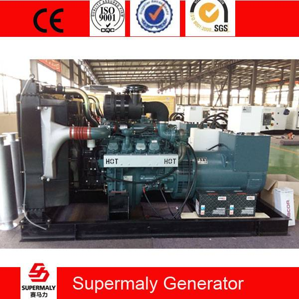 Original Doosan Diesel Generator 500KVA / 400KW by DP158LD with global warranty