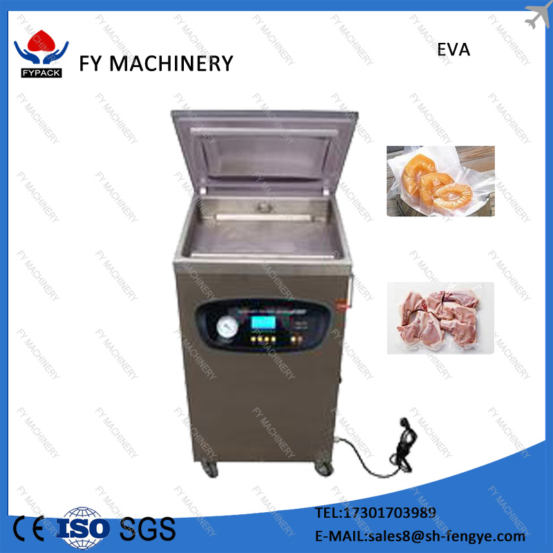 Hot sale china factory food fish fruit vaccum packing machine