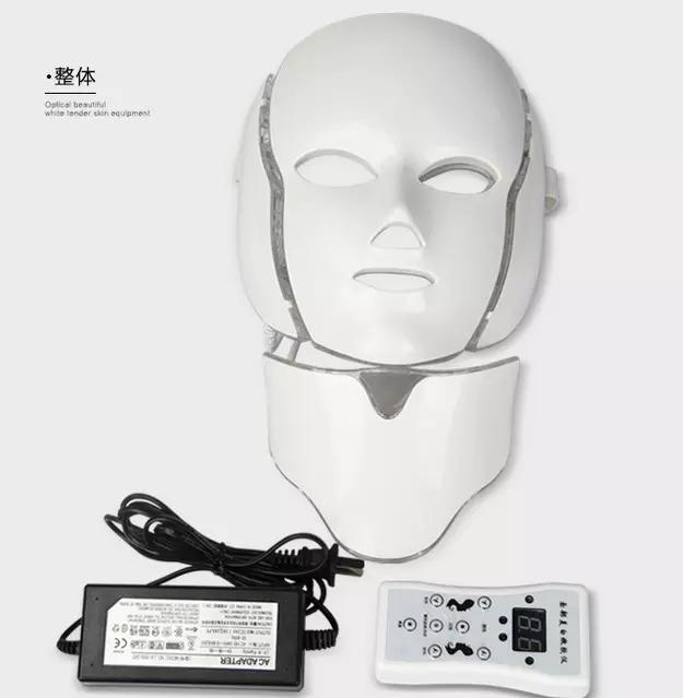 Beauty skin care led facial mask Korea PDT LED Mask for acne treatment