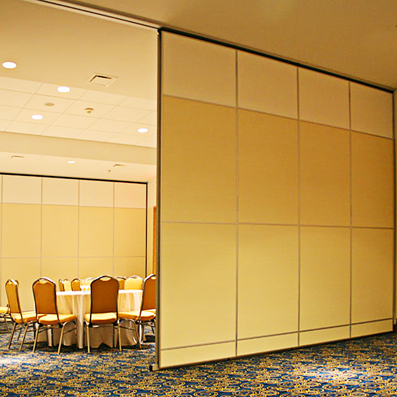 Commercial Aluminium Frame Sliding Operable Partition Wall