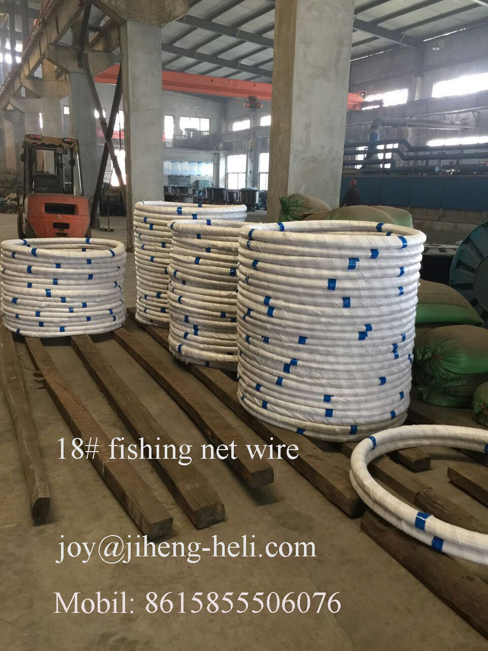 high carbon straighten Galvanized steel wire for fishing net 18#,19#