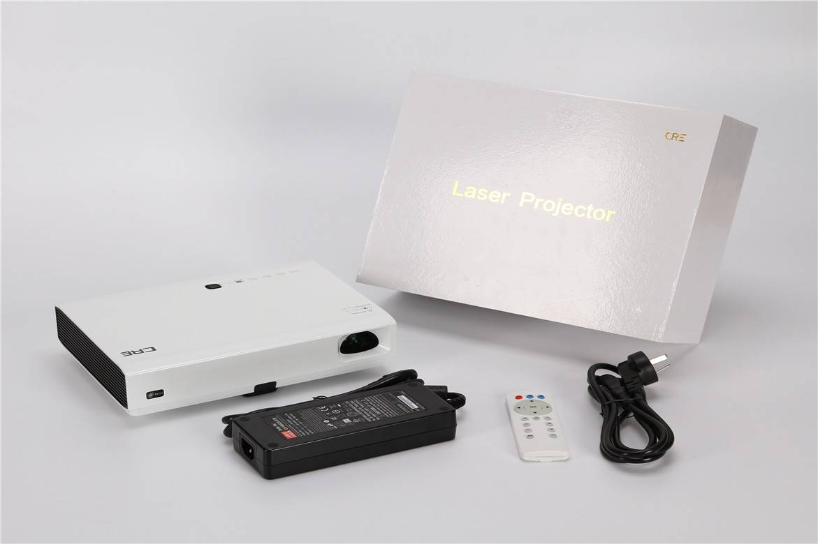 3800 lumens high light full HD led laser 3D projector/ CRE X2500
