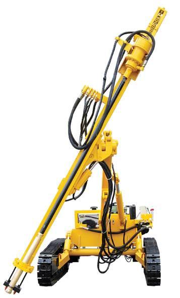 Pneumatic Crawler Drill