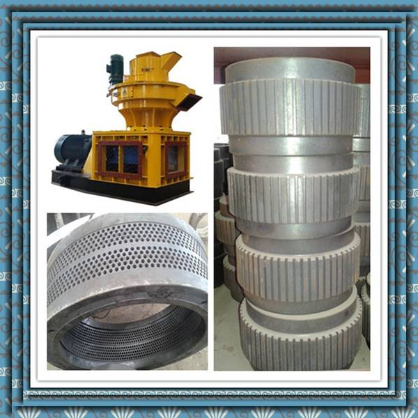 ring die pellet mill for wood/saw dust home used wheat straw pellet mill