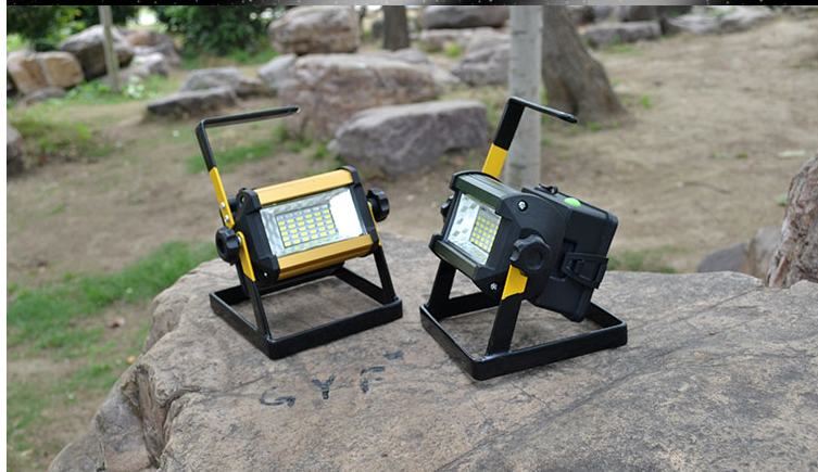 OTOFN Floodlight rechargeable portable mobile floodlight patch flash wide angle warning light