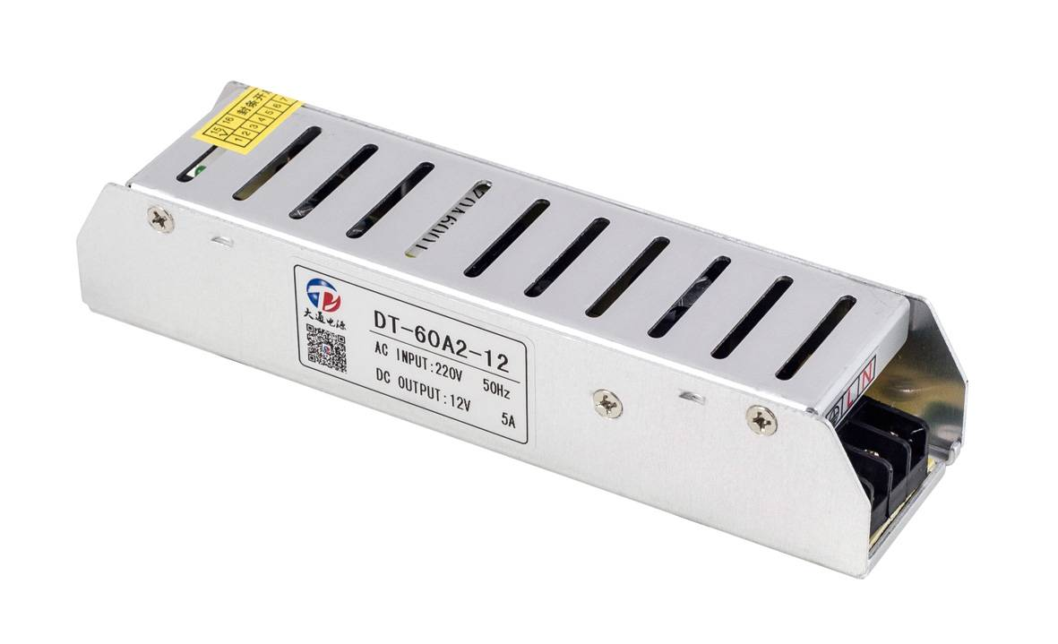 Slim Power Supply For Light Box 60W 12V/24V(DT-60A2)