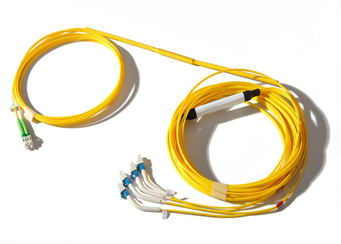 High Return Loss Fiber Optic Y Cable 2.0 / 3.0 mm 1260 ~ 1360 / 1471 ~ 1611 nm