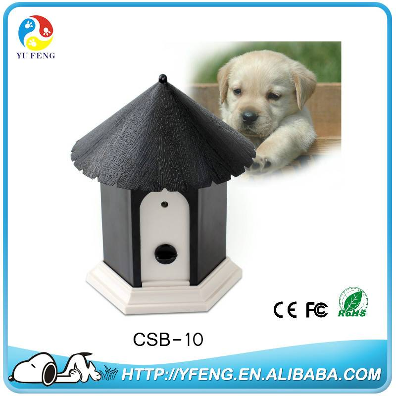 Patent Style Pensile Ultrasonic Function Outdoor Dog Bark Control