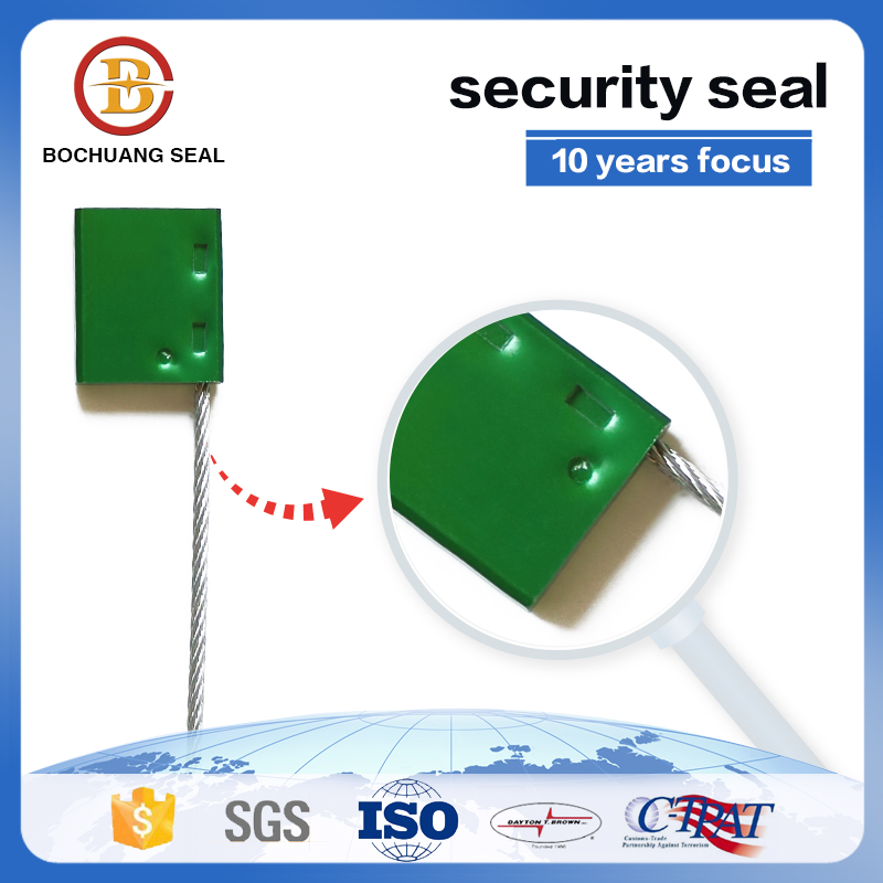 2.5mm wire Aluminum cable high security seals C203