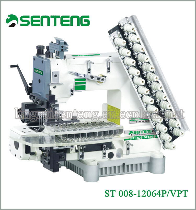 ST 008-12064P/VPT 12 NEEDLES PIN TUCKING INDUSTRIAL SEWING MACHINE PRICE