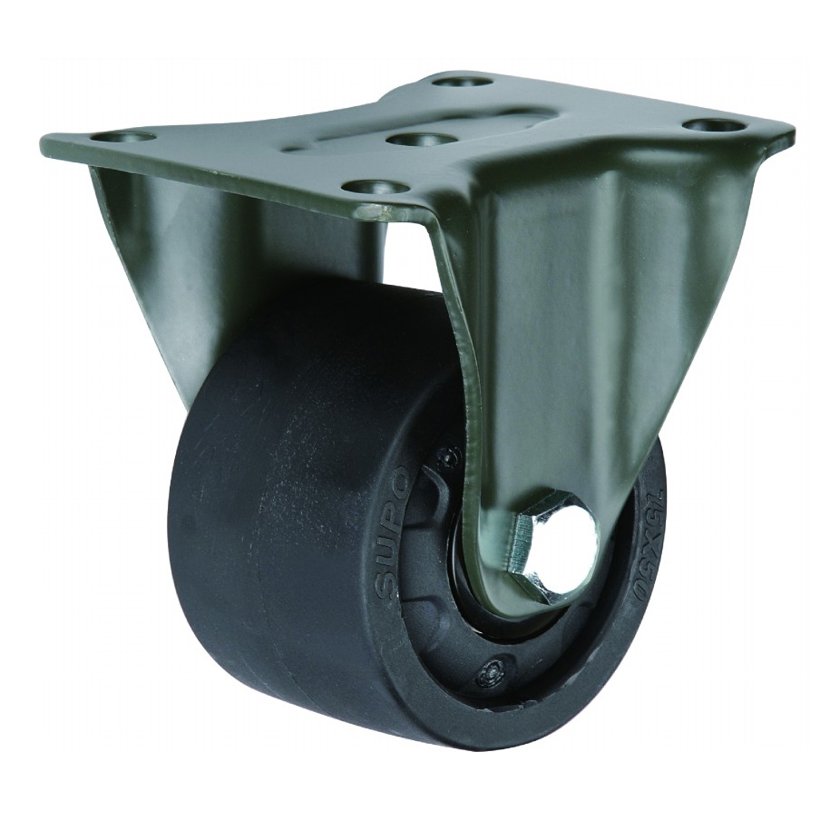 PA Wheel Swivel Top and Fixed Plate Super Heavy Duty Casters