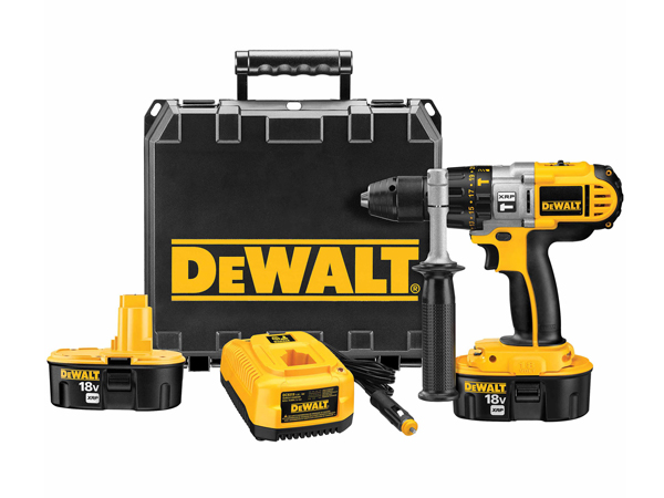 "Cheap drills and power tools for sale DeWalt DCD950VX 18V 1/2"" XRP Hammerdrill/Drill/Driver Kit"