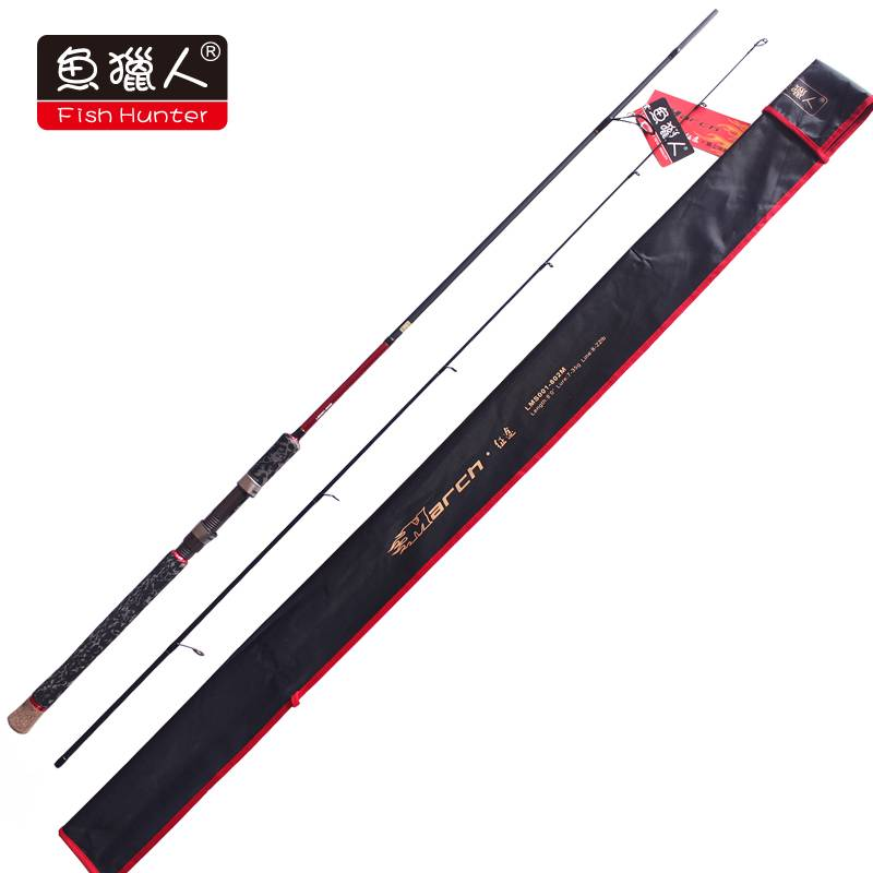 Carbon Fishing rod/March/Spinning/2.44m/M/wholesale