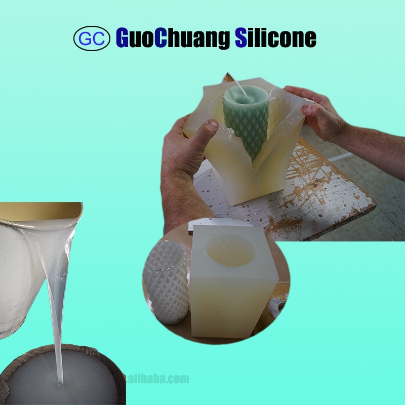 silicon liquid for candle mold making