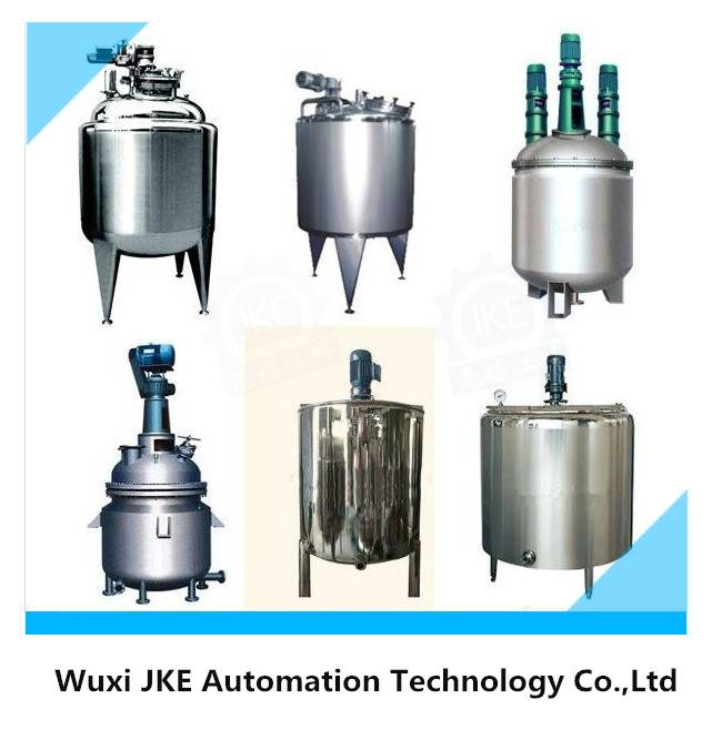 Stainless Steel Electric Heating Mixing Tank with Scraper Agitator/Stirrer