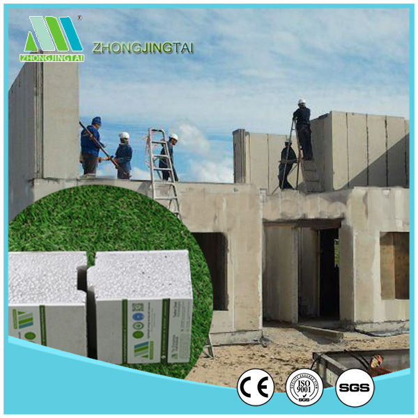 high quality insulated eps cement sandwich panel for sip house