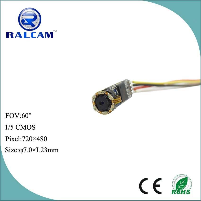 720*480 resolution infrared cmos camera module for hidden camera and endoscope