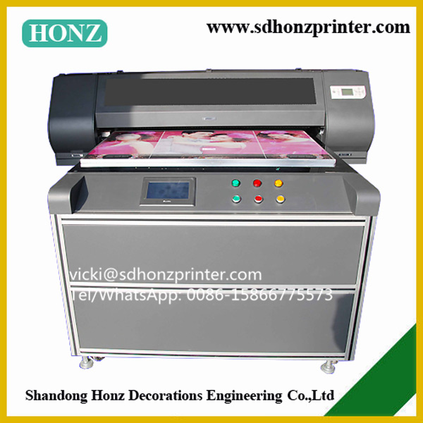 New design digital inkjet UV led flatbed printer for wholesale