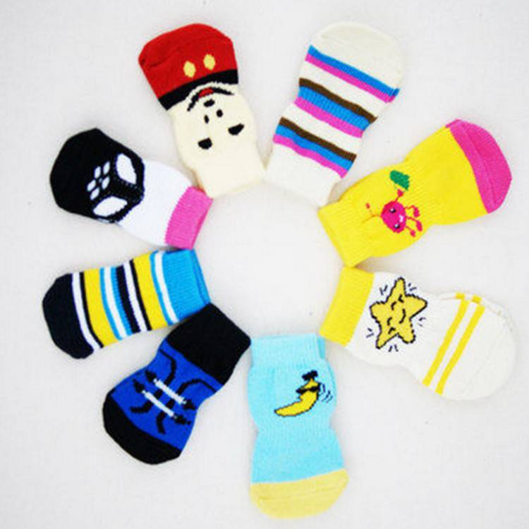 Two  Section Dog shoes and socks Wholesale Dog Socks