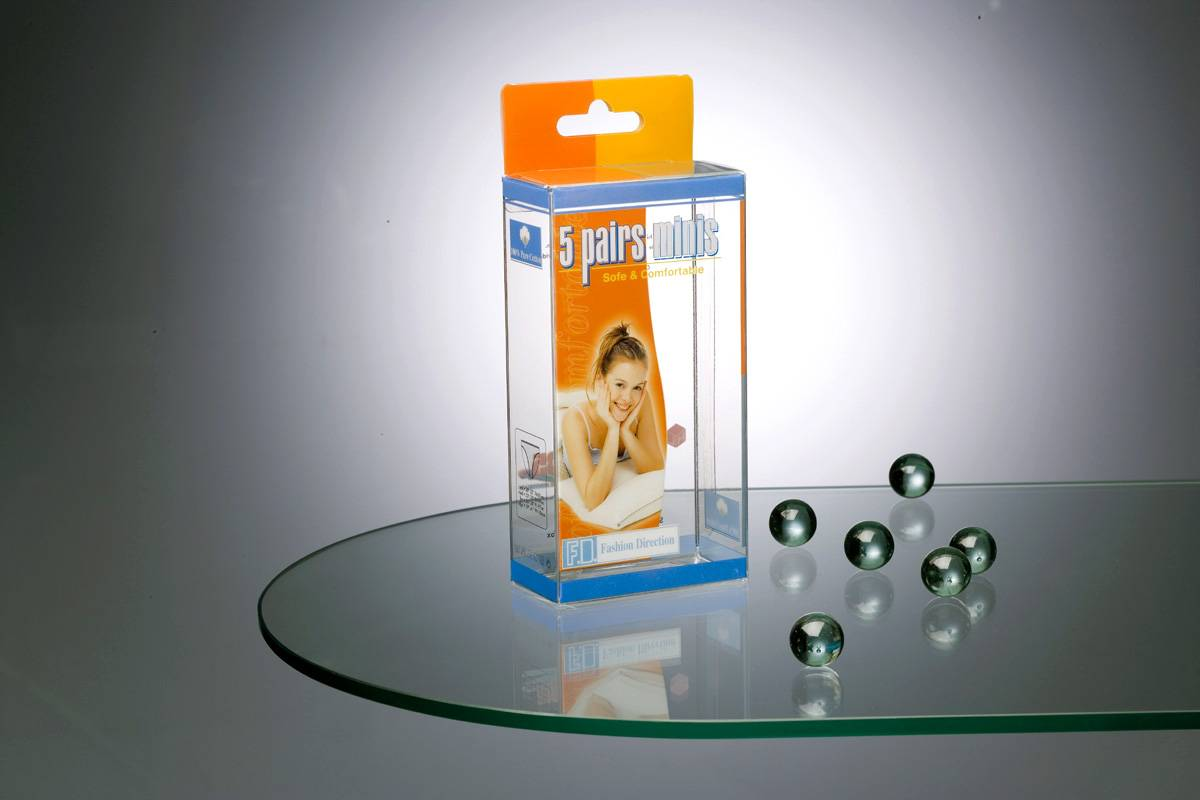 Clear PVC Folding Box for Packaging