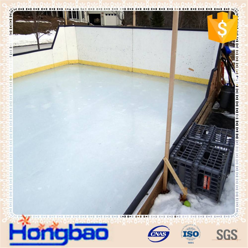 Outdoor and indoor practice hockey shooting pad/ synthetic ice rink/ ice skating rinks