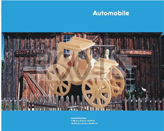Automoble-3D wooden puzzles, wooden construction kit,3d wooden models, 3d puzzle