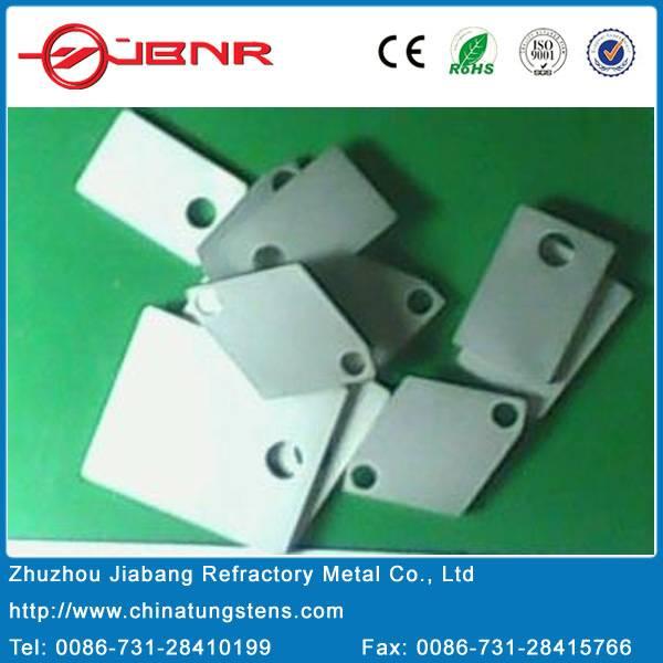 Mo/Cu or Cu/W composite heat-sinks for titanium composite packaging