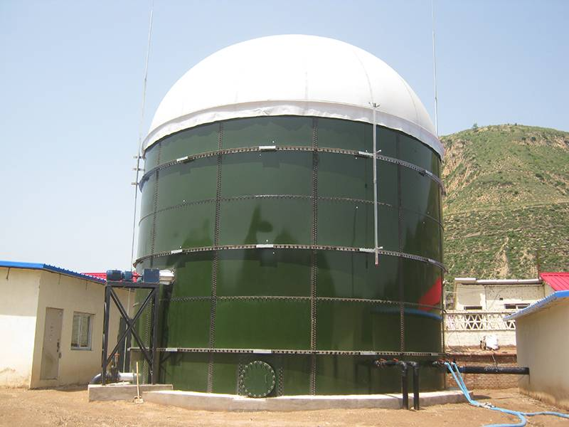 Glass lined anaerobic digester with more than 30 years service life