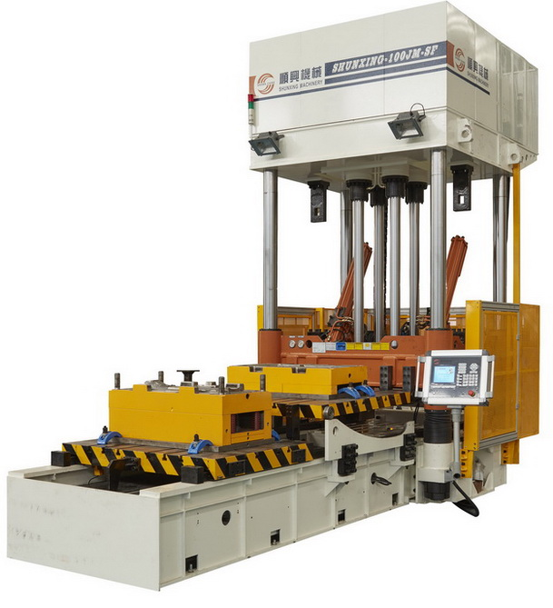 Guide Pillar Type Die Spotting Machine YC Series