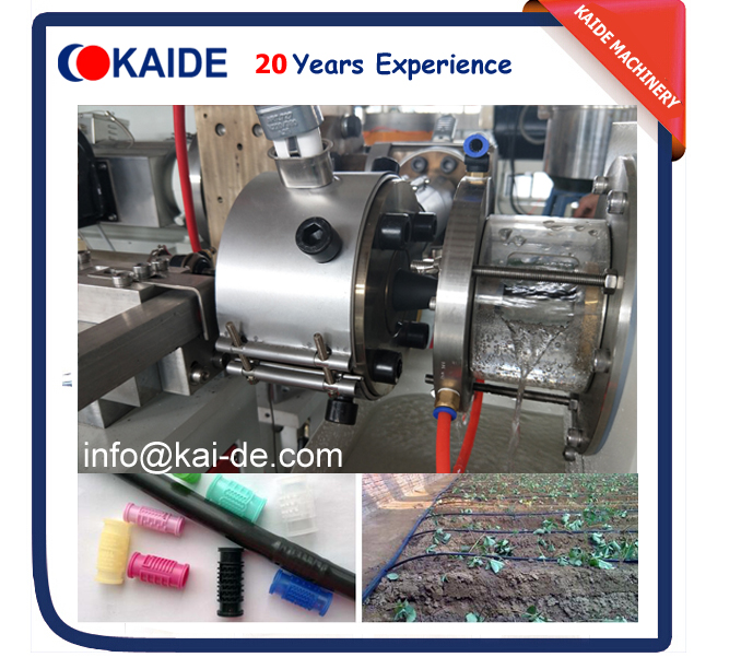 round drip irrigation pipe production line for sale