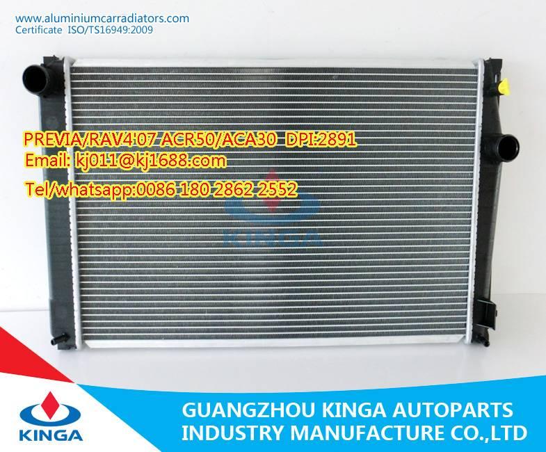 Auto Parts Aluminum Radiator for Toyota previa RAV4 07 ACR50  Aca30 Mt