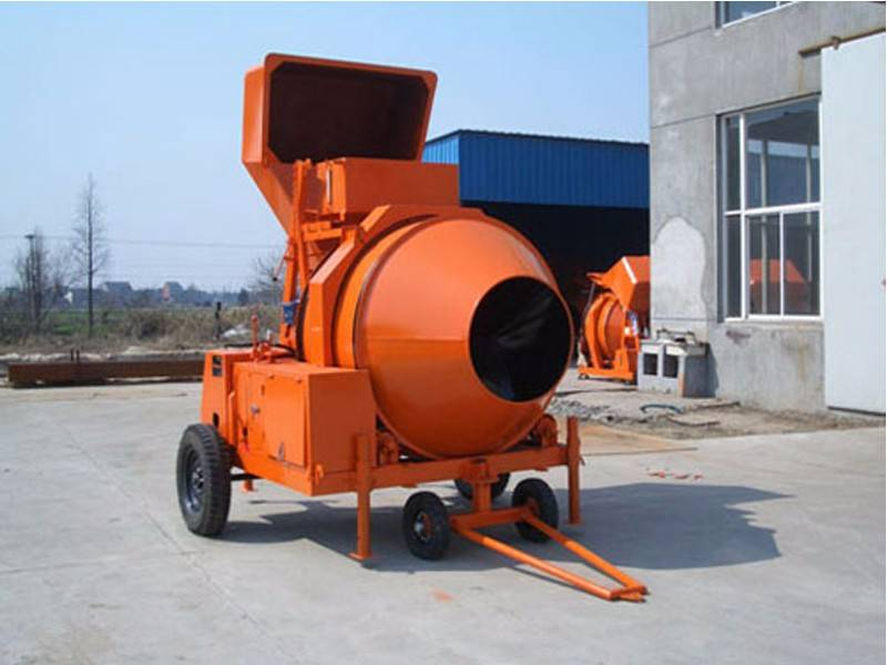 JZR350 Diesel and Hydraulic Concrete Mixer