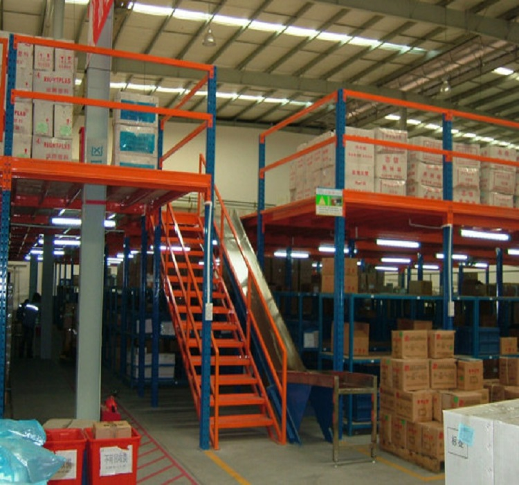 Warehouse Storage Racking System Mezzanine Floor