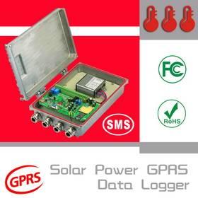 Wireless Solar Power Temperature Logger
