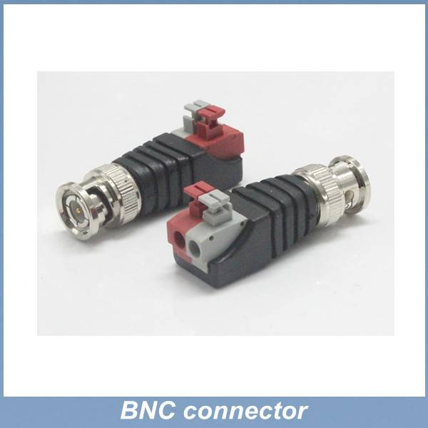 male BNC plug to clip terminal