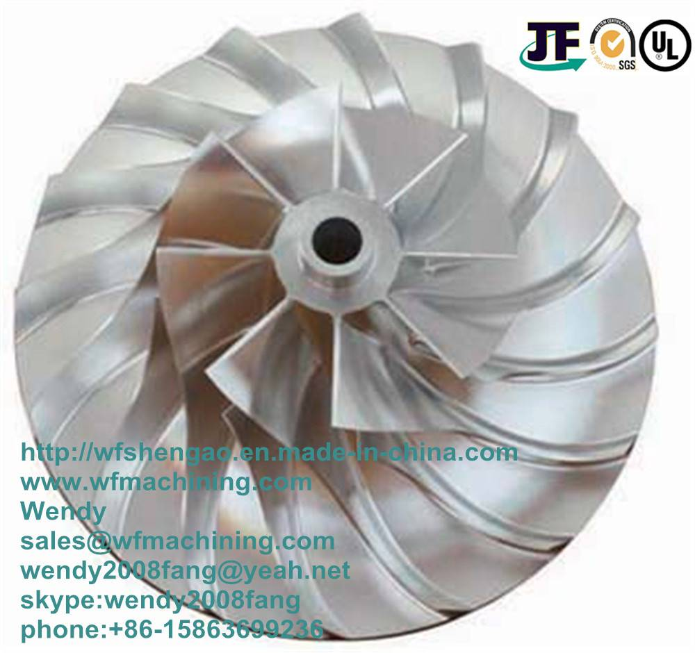 China Investment Casting/Precision Casting Impeller