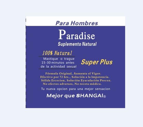 paradise super x man enhancer healthy product for man