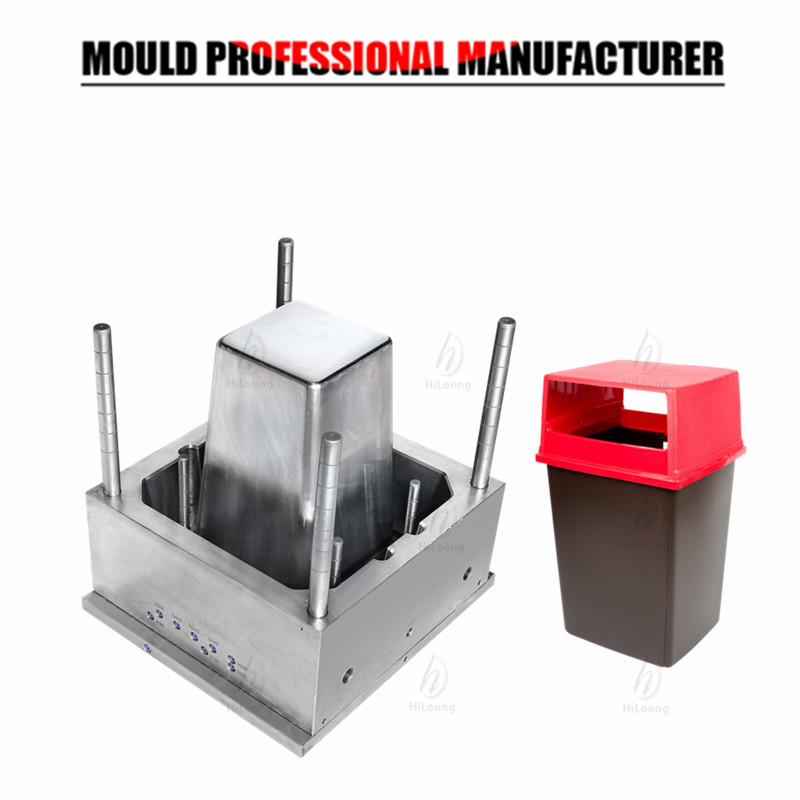 plastic garbage can mould injection