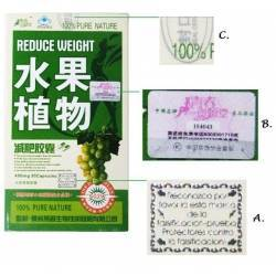 original Fruta Planta reduce weight natural diet pills