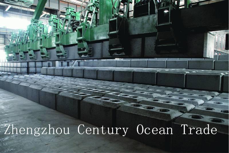 pre-baked aluminium carbon block