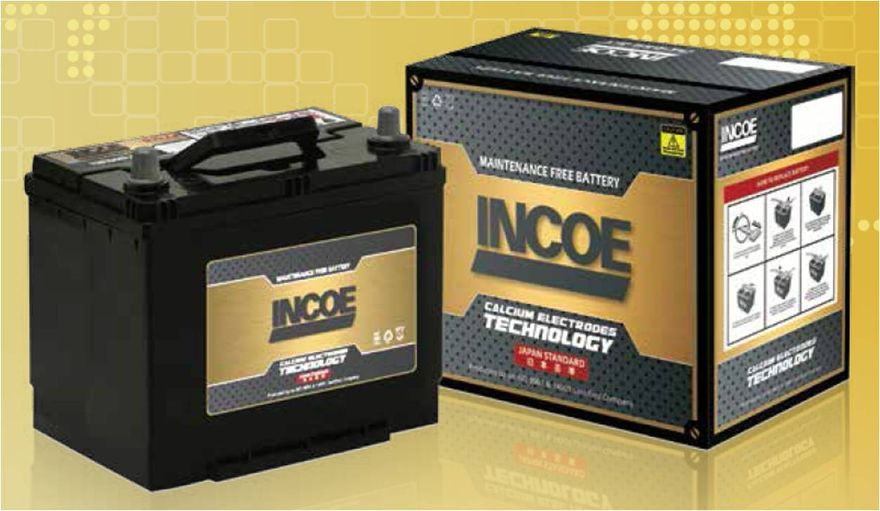 INCOE Automotive Battery