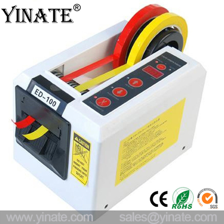 NEW YINATE ED-100 Electronic Tape Dispenser for Packing Automatic Tape Cutter Machine CE approved