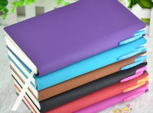 New Design  PU Leather Notebook  with Pen Loop