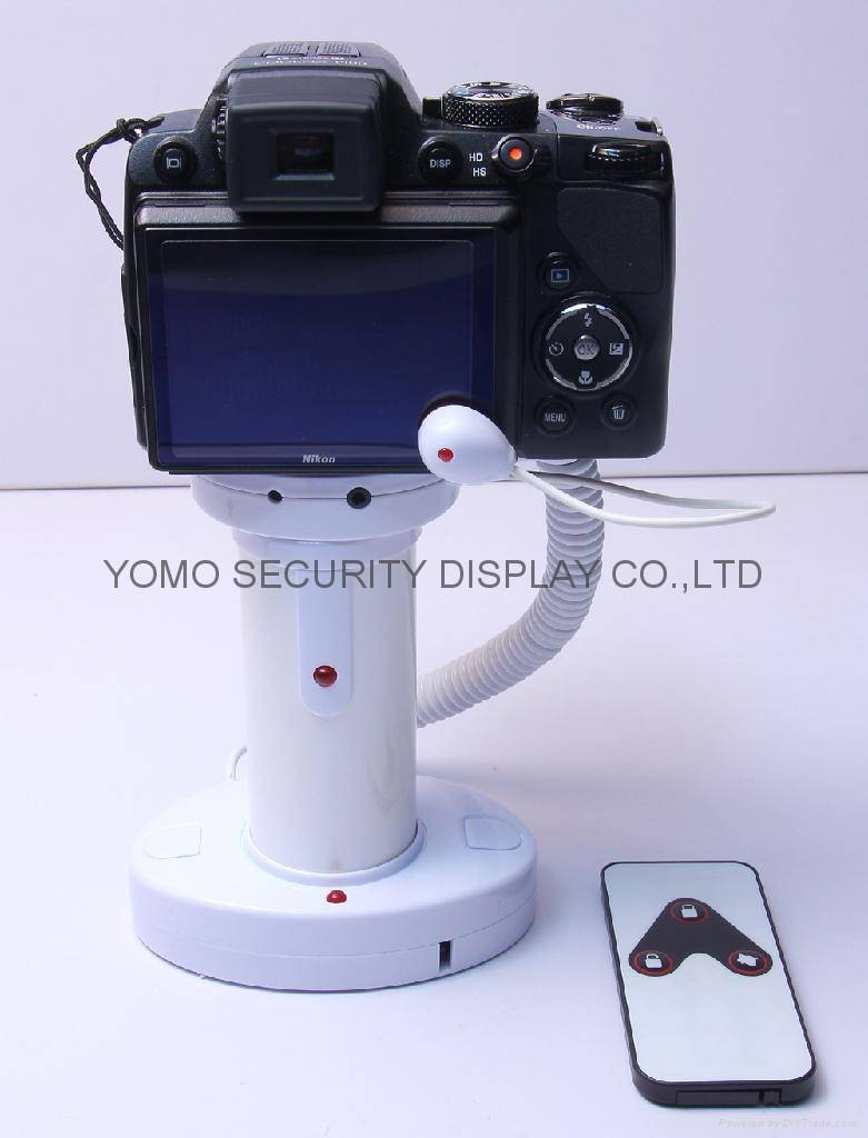 Camera Security Display Holder with Alarm Function