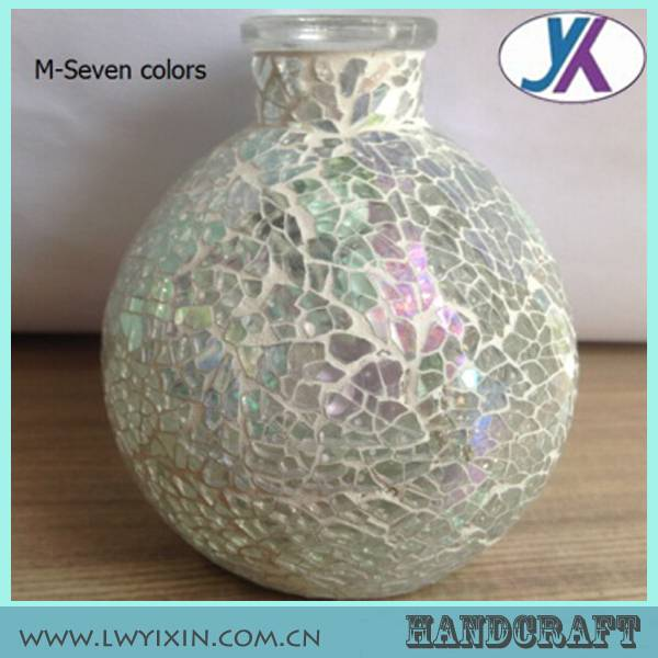 mosaic glass fragrance oil lamp