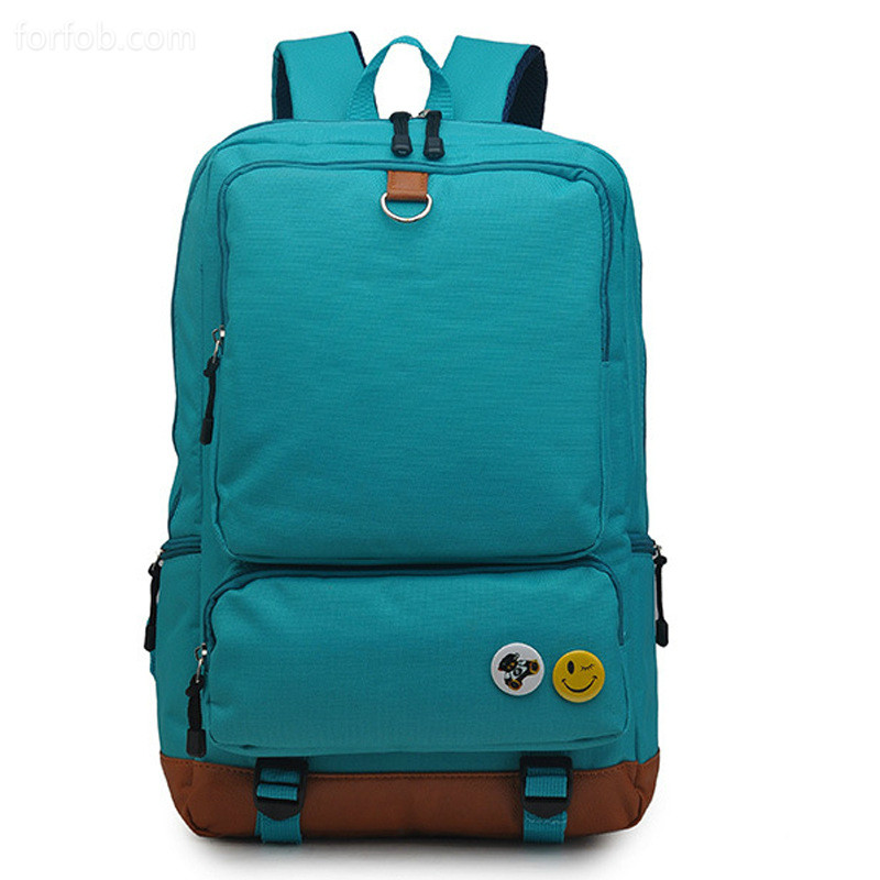 Fashion Nylon Women Foldable Backpack College Middle High School Bag For Young Teenager Girl Lady