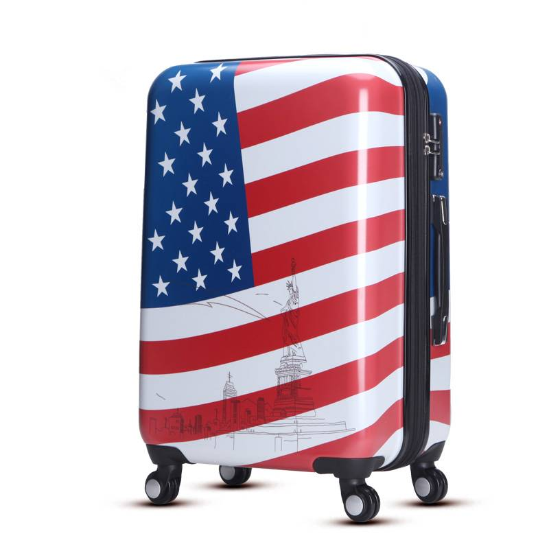 ABS PC trolley luggage suitcase