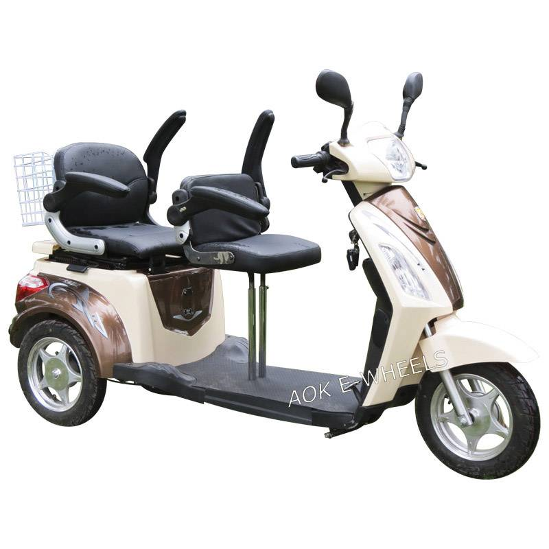 High Quality Disabled Scooter for Passenger with Deluxe Saddle (TC-018B)